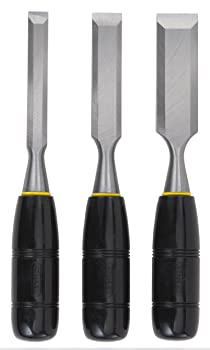 Stanley Short Blade 3-Piece Wood Chisel