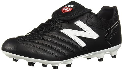 8a7c5fa56e061 New Balance 442 Pro FG Football Boots - Black/White: Amazon.co.uk ...