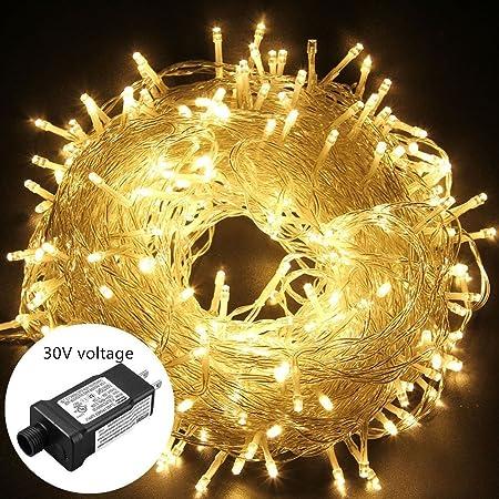 15M 200 LED String Fairy Lights Lamp Christmas Wedding Tree Decor Waterproof