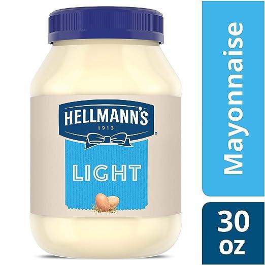 Hellmann's Mayonnaise, Light, 30 Ounce