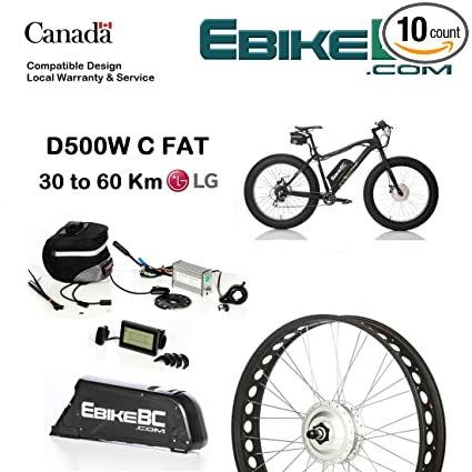 Amazon com : Street Legal Fat Ebike KIT 500/800W Electric