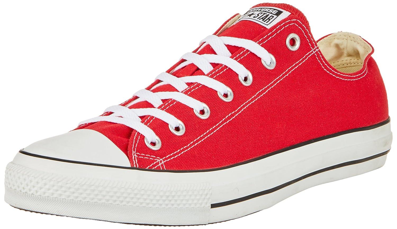 Converse Chuck Taylor All Star Core Ox B01N4F765E Mens 9 / Womens 11|Red