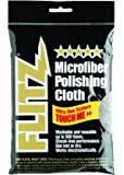 "Flitz MC200 Thick 'n Thirsty 16"" x 16"" Silver Microfiber Polishing Cloth"