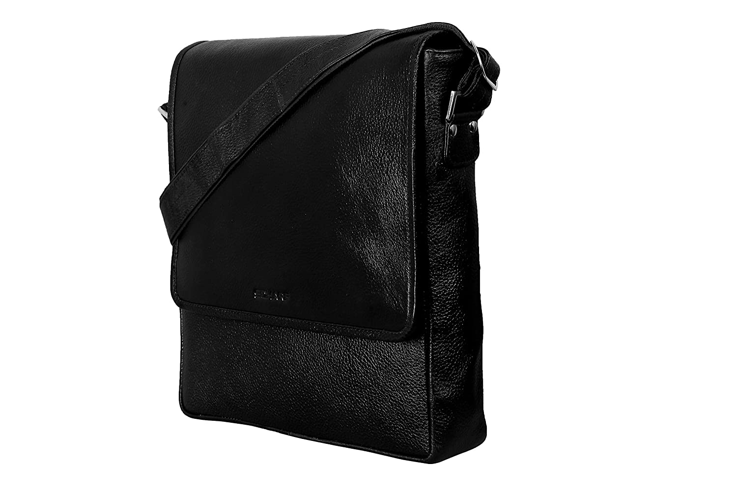 SCHARF Robin Arthur-Come Soon Men s Leather Black Sling Bag  Amazon.in  Bags 8a0e863568117