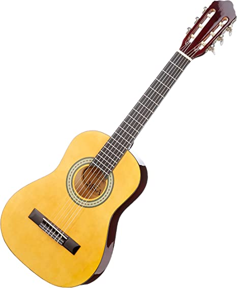 MSA J3/L Halbe Guitarra, 6 cuerdas, natural, 1/2: Amazon.es ...