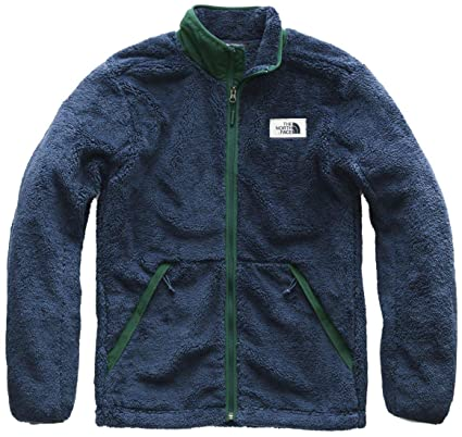 43ec8163f520 The North Face Campshire Full Zip Jacket - Men s Shady Blue Botanical  Garden Green Medium