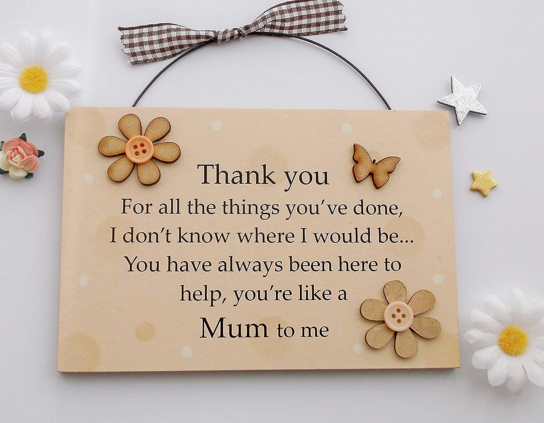*Mum Everything I Am Wish Bracelet*Friendship Card Birthday Mum Mummy Mother Nan
