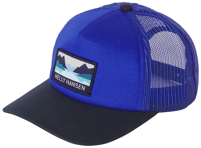 Unisex Adulto Royal Blue Helly Hansen HH Trucker Cap Gorra STD