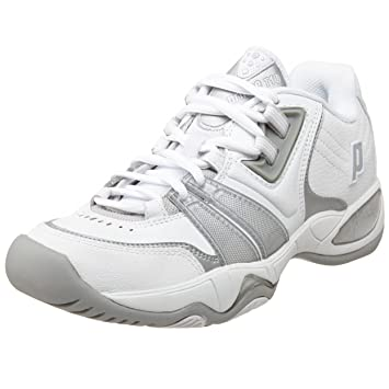 Prince Damens's T10 Tennis Schuhe, Schuhe, Schuhe, Weiß Silver, 10.5 M US dd7675