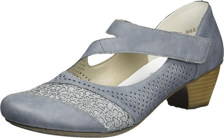 TALLA 41 EU. Rieker 41743, Zapatos de Tacón para Mujer