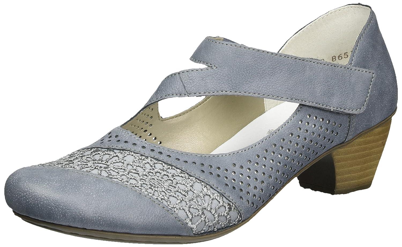TALLA 40 EU. Rieker 41743, Zapatos de Tacón para Mujer