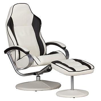 Tv sessel design  Amstyle Fernsehsessel Sporting TV Design Relax-Sessel verstellbar ...
