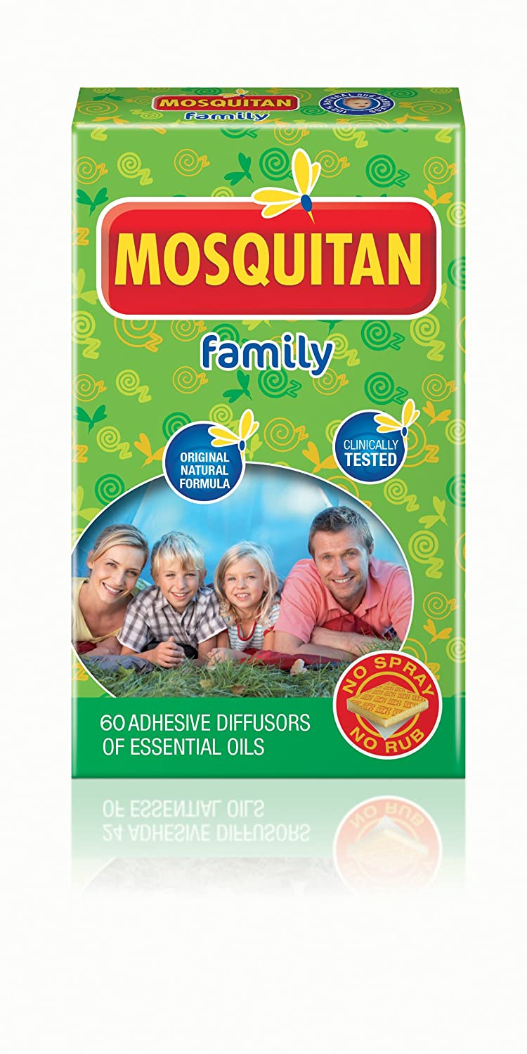 Mosquitan Mosquito Patches Deet free perfect for the family. 60 Patches