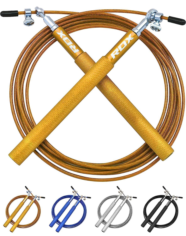 RDX Ajustable Saltar Cuerda Salto Comba Velocidad Crossfit Rapida Pérdida Peso Cable