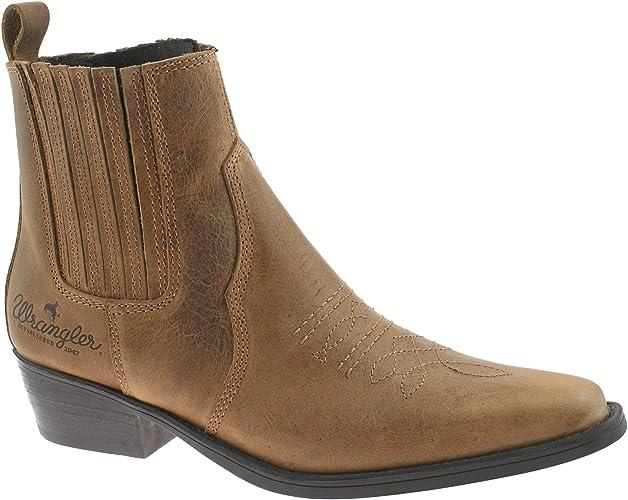 Wrangler Tex Mid Mens Ankle Cowboy