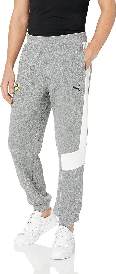 Puma Herren Jogginghose Scuderia Ferrari Sweat Pants Amazon De Sport Freizeit