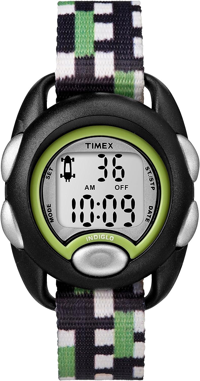 822590fb300 Timex Children s Digital Quartz Watch with Nylon Strap TW7C13000   Amazon.co.uk  Watches
