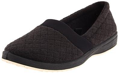 Foamtreads Women's Coddels Slipper,Black,6 ...