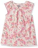 Osh Kosh Girls' Toddler Fashion Tops, Grey Floral, 3T