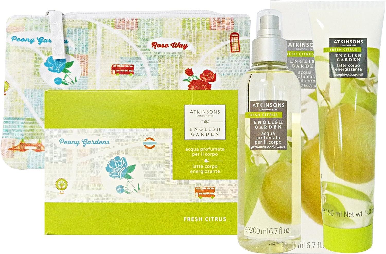 Estuche Atkinsons English Garden Fresh Citrus: Amazon.es: Salud y cuidado personal