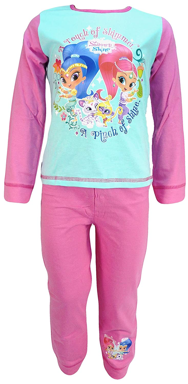 2-3 4-5 YEARS NEW WITH TAG GIRLS SHIMMER /& SHINE PYJAMAS SET SIZE 18-24 3-4