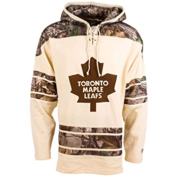 Maple Leafs Camo Lacer Pullover Realtree Hoodie Heavyweight Toronto