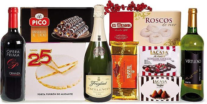 Lotes, Cestas y Regalos Lote De Navidad, 5000 g, Pack de 1: Amazon ...