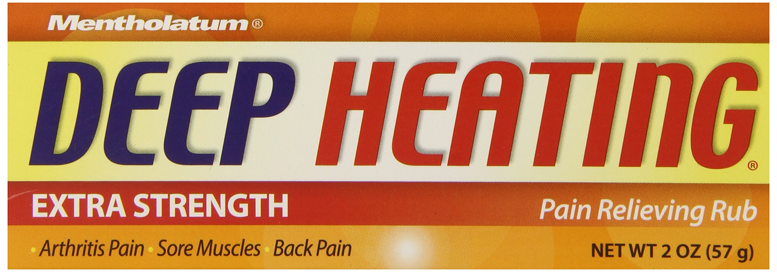 Deep Heating Pain Relieving Rub, Extra Strength, 2-Ounce (57 g) (Pack of 6)