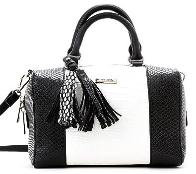 Amazon.com  Like Dreams Claire Stachel Bag(Black White)  Shoes 667cb830e3480