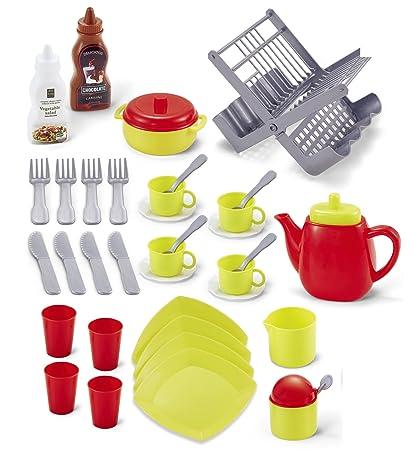 Kids Kitchen Accessories | Genius Art Teapot Set For Little Girls Kids Kitchen Accessories Pretend Play Toy Tea Pot Party 2018 Edition