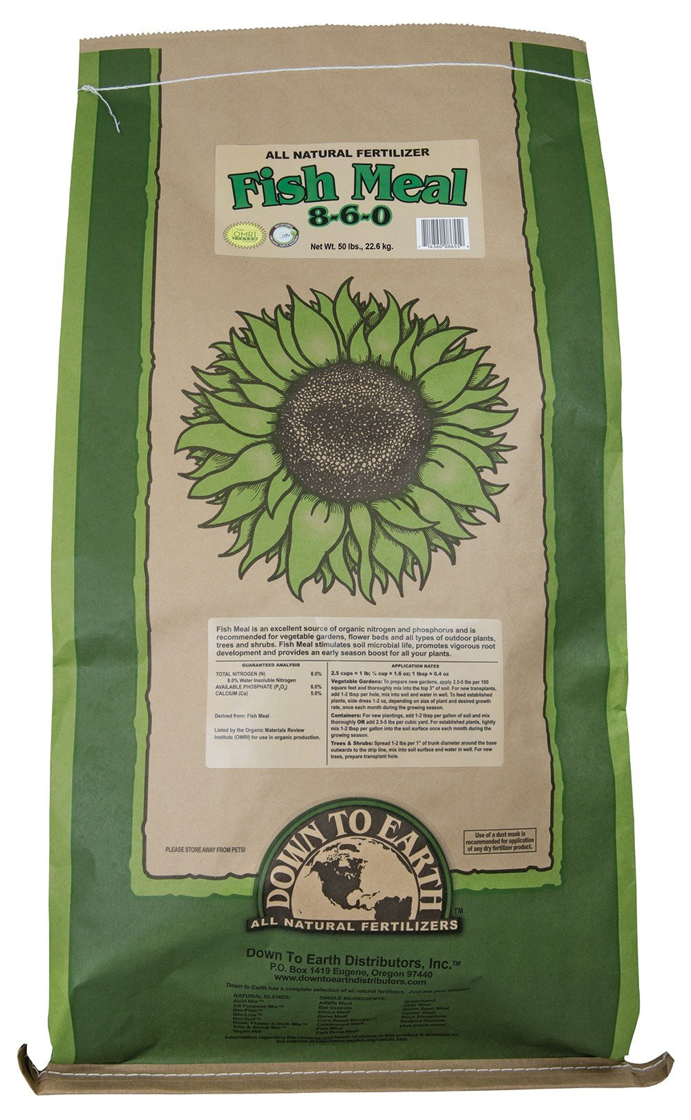 Down To Earth All Natural Fertilizers 8655 8655-IPO Down to Earth Acid Mix Fertilizer by Down To Earth All Natural Fertilizers