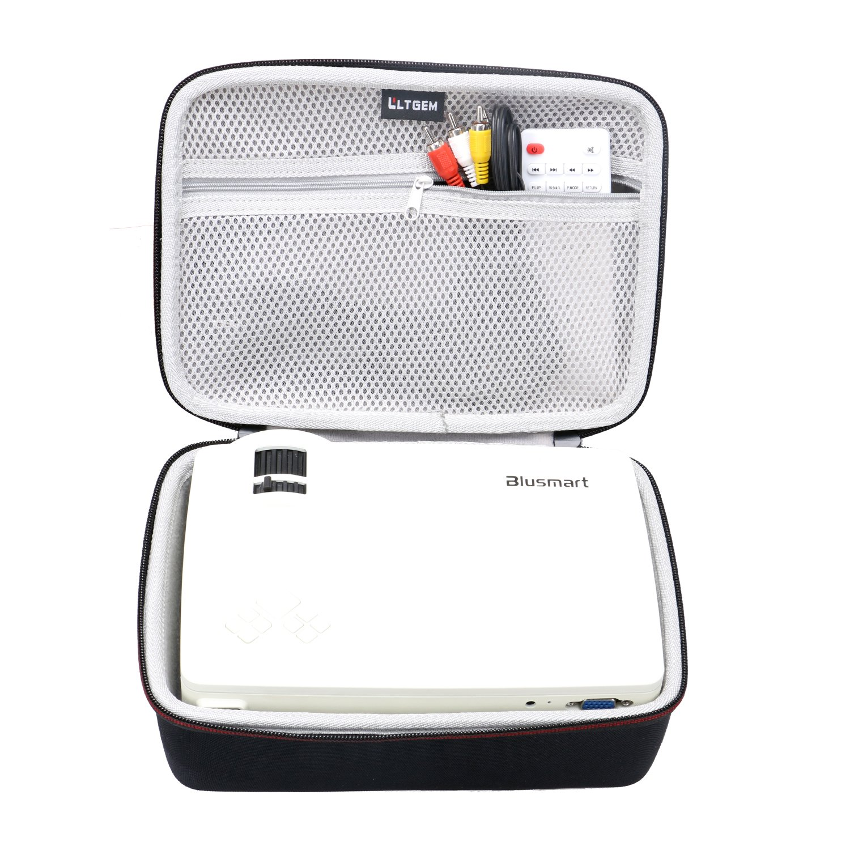 LTGEM EVA Hard Case for Blusmart LED-9400 Video Projector 2018 Upgraded +70% Brightness Portable Mini Projector - Travel Protective Carrying Storage Bag by LTGEM (Image #2)