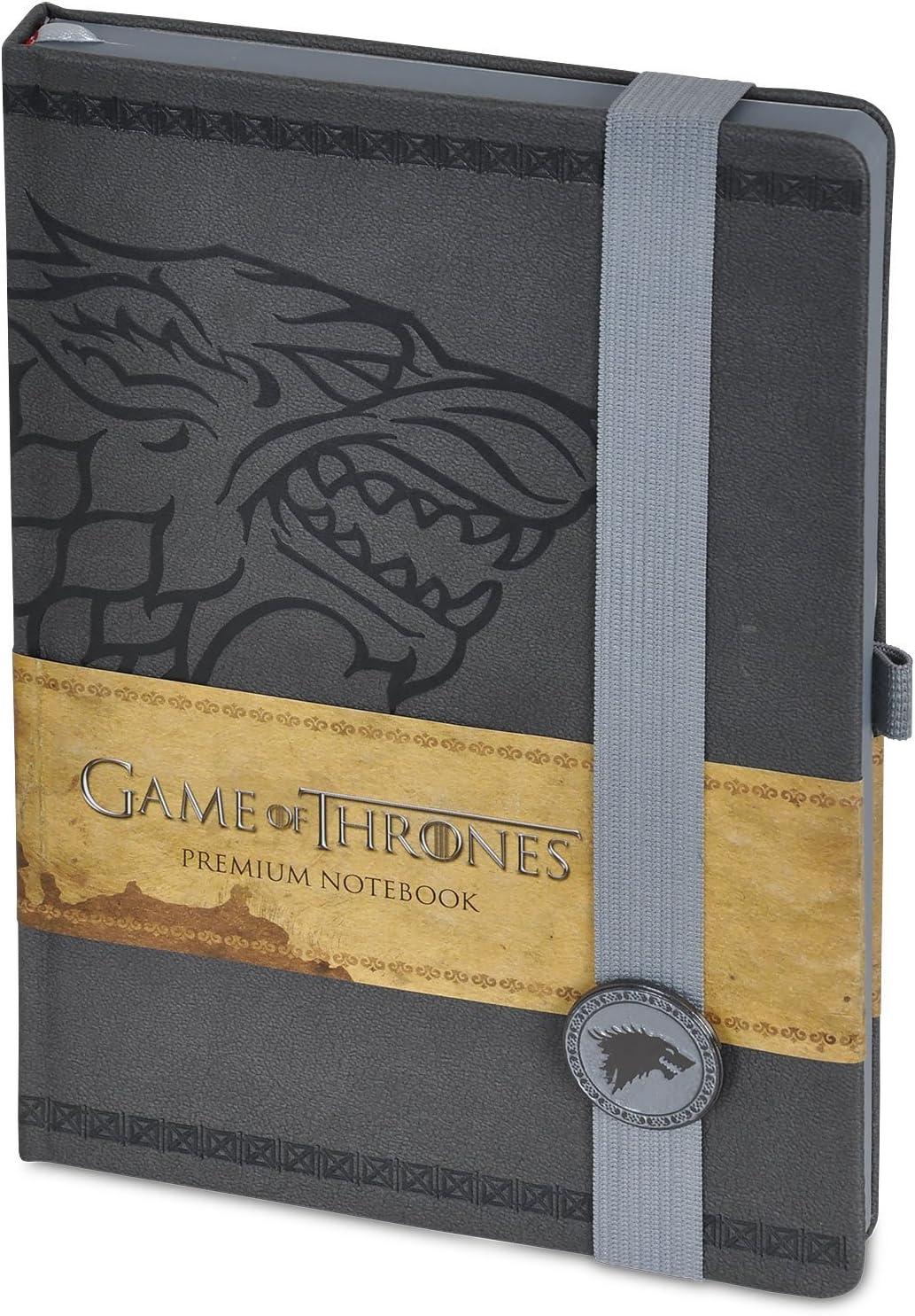 Juego de Tronos Stark Premium – cuaderno (15 x 21 cm): Amazon.es: Juguetes y juegos