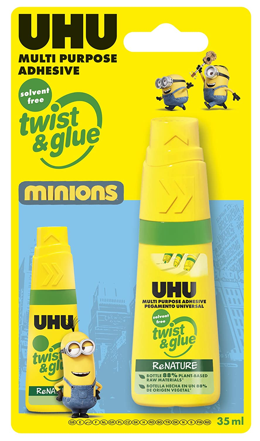 Uhu & Glue Twist-Colla Scolastico, 35 ml 36712