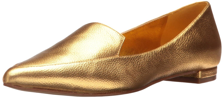 Nine West Women's Abay Metallic Pointed Toe Flat B01MDNMBLL 6.5 B(M) US|Dark Yellow