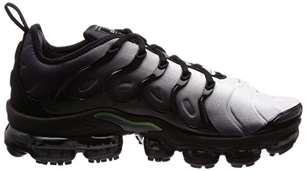 brand new 4c097 f8bcd Nike Men s Air Vapormax Plus Shoe Black Volt White (9.5 D(M) US)  Buy  Online at Low Prices in India - Amazon.in