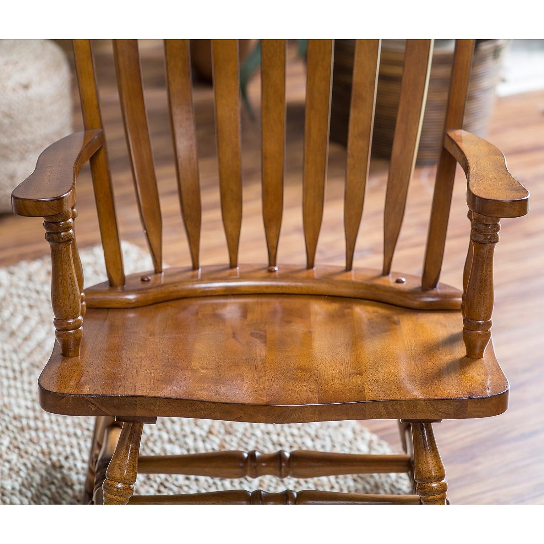Amazoncom Belham Living Windsor Rocking Chair