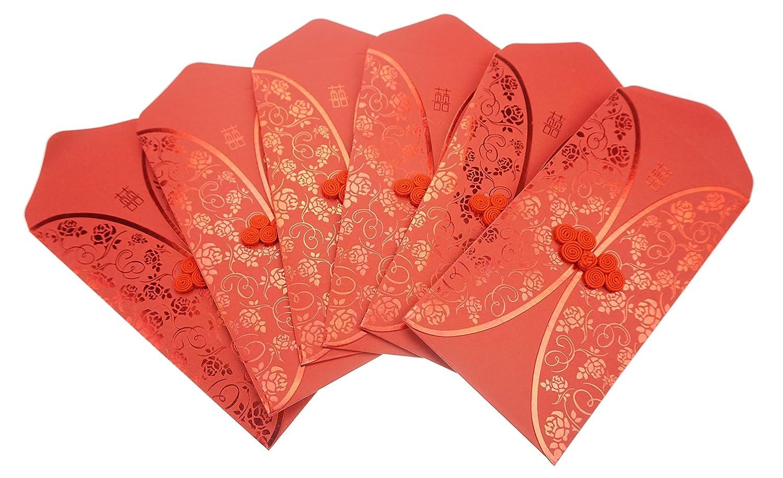 Amazon.com : Bilipala Traditional Chinese Red New Year Money Wedding ...