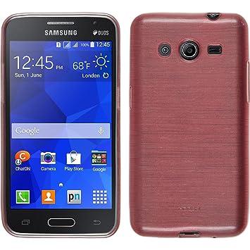 PhoneNatic Funda de Silicona Compatible con Samsung Galaxy Core 2 ...
