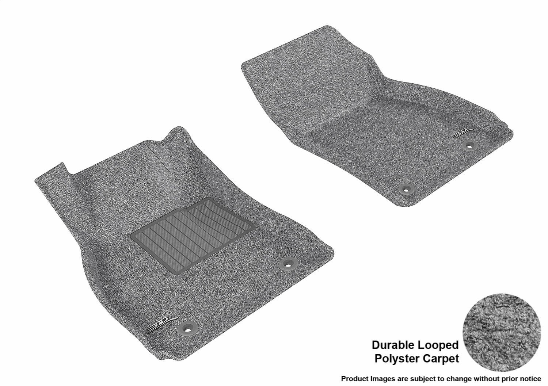 Classic Carpet 3D MAXpider Second Row Custom Fit All-Weather Floor Mat for Select Buick Regal Models L1BC02622202 Tan