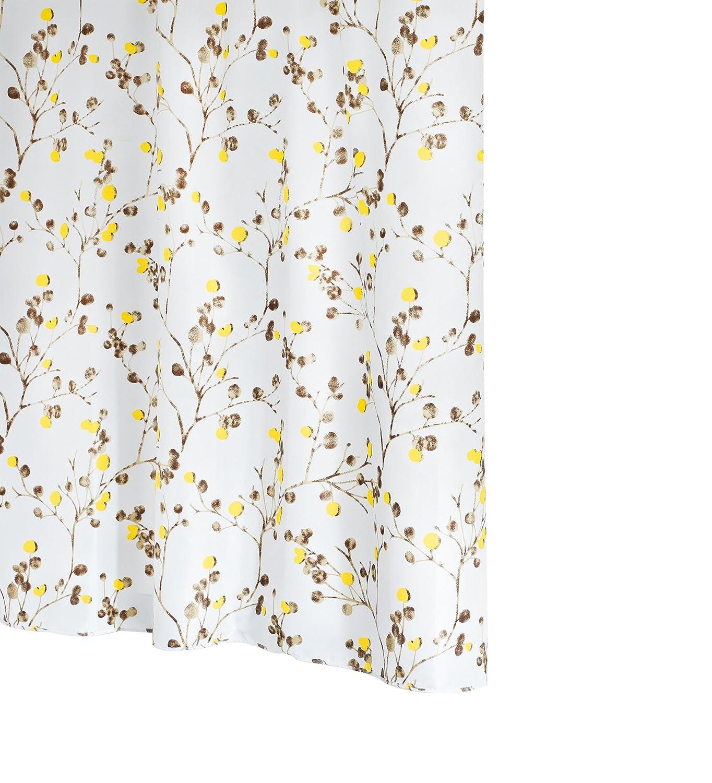 Ridder Berry 463780-350 - Tenda da doccia in tessuto, con anelli inclusi, 180 x 200 cm, colore: Marrone Ridder GmbH 46378S-350
