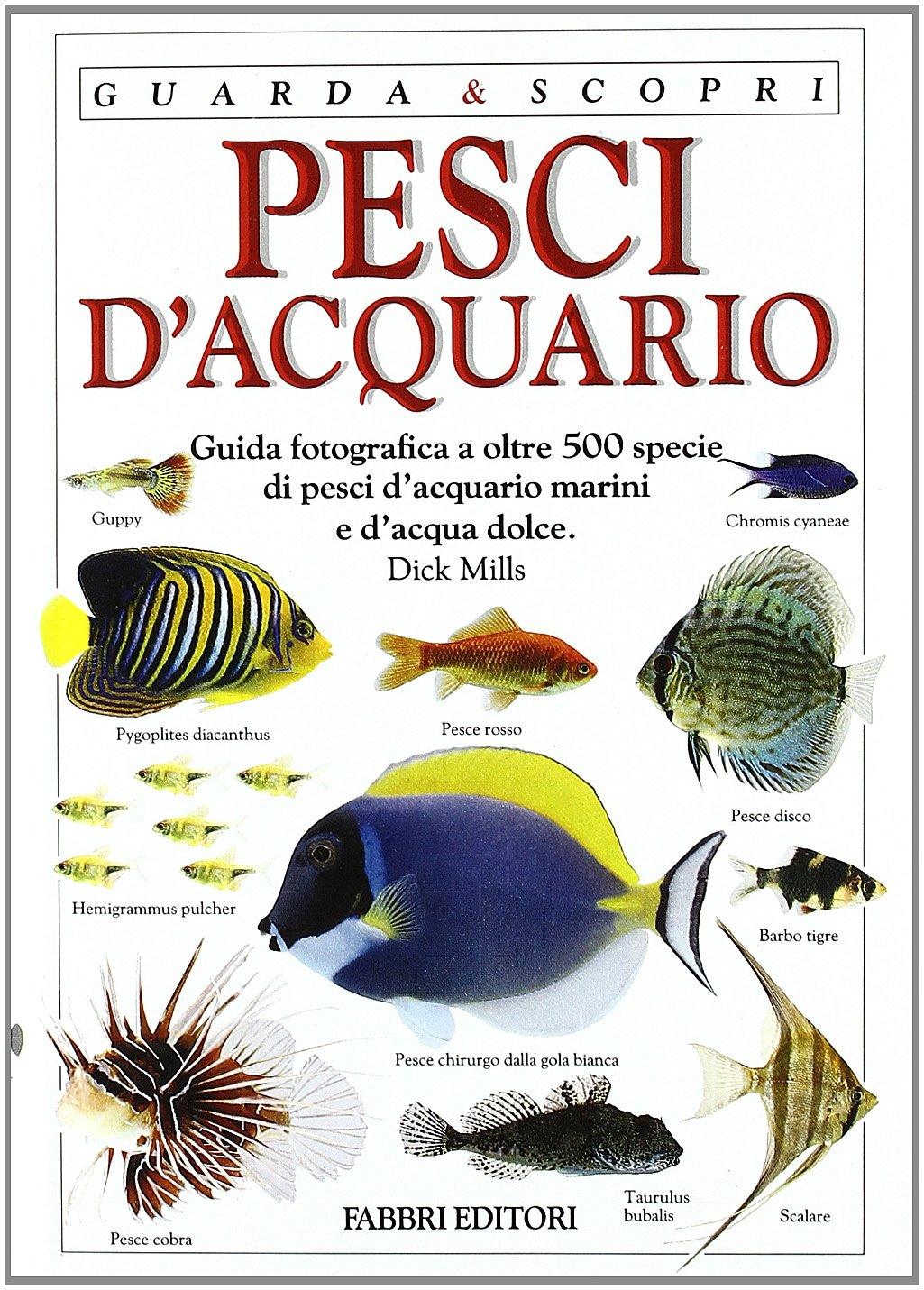 Pesci d'acquario. Ediz. illustrata Copertina flessibile – 9 mar 1994 Dick Mills S. Lavorano E. Lucheschi Fabbri