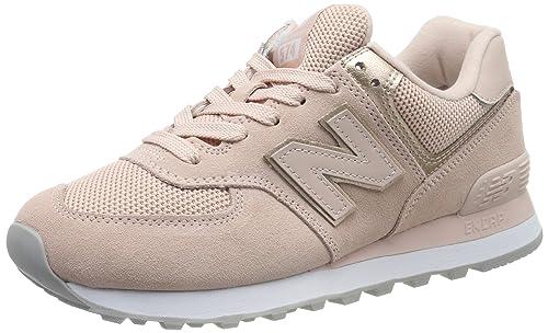 sports shoes 6d1f6 97701 New Balance Damen 574v2 Sneaker, grau