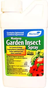 Monterey LG6158 8oz GardenInsect Spinosad Insect Spray, Clear