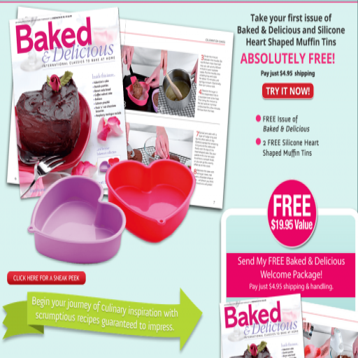 (Baked & Delicious Magazine - Get Your Free Premiere Issue)