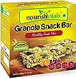 NourishVitals Granola Snack Bar - Healthy Fruit Mix (5 Bars) - 250 Grams
