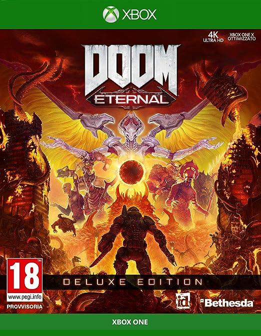 Doom Eternal - Deluxe - Xbox One [Importación italiana]: Amazon.es ...