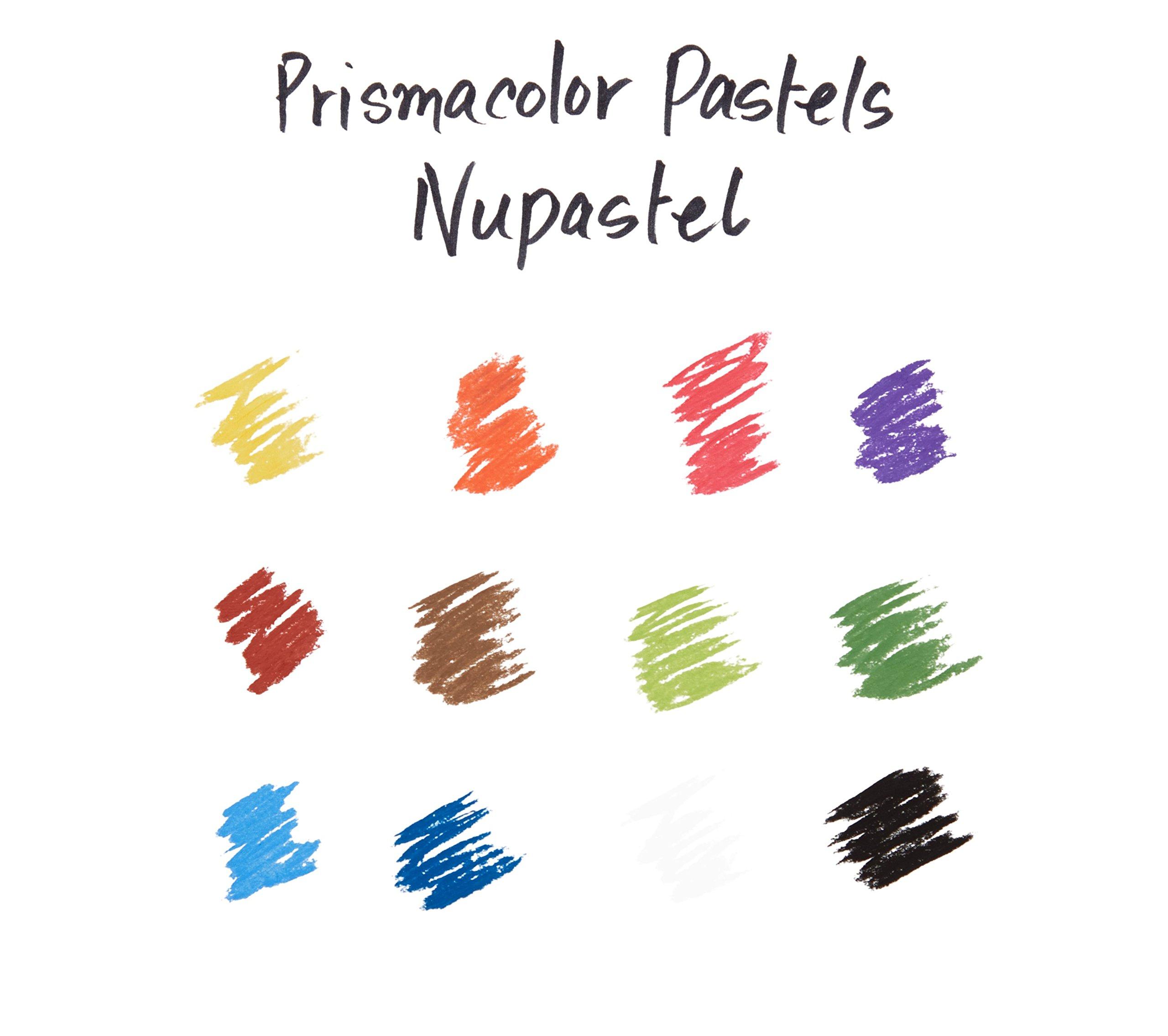 Prismacolor 27055 Premier NuPastel Firm Pastel Color Sticks, 96-Count by Prismacolor (Image #6)