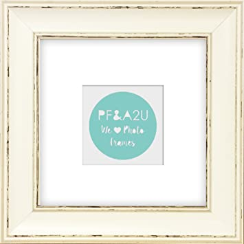 8x8 5x5 shabby chic madison distressed cream square instagram photo frame