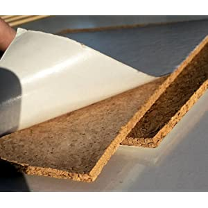 de uso doméstico, corcho autoadhesivo 4,75 mm